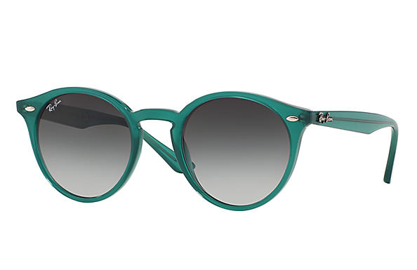 ray ban round frame acetate sunglasses  ray ban 0rb2180 rb2180 green sun