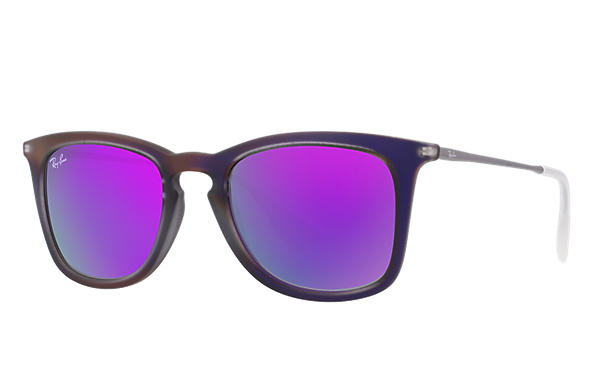 Ray-Ban 0RB4221-RB4221 Violet; Staalgrijs SUN