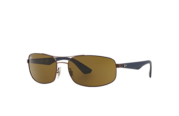 Ray-Ban 0RB3527-RB3527 Marron; Bleu SUN