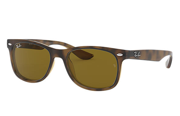 Ray-Ban 0RJ9052S-NEW WAYFARER JUNIOR Havane SUN