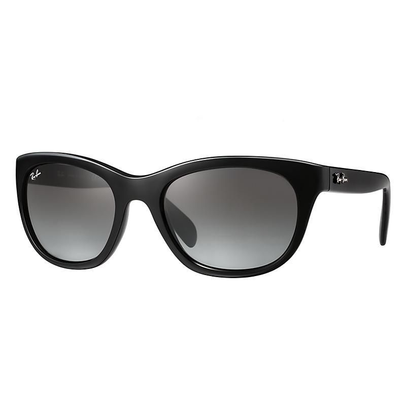 Ray-Ban Women's Black Sunglasses, Gray Lenses - Rb4216