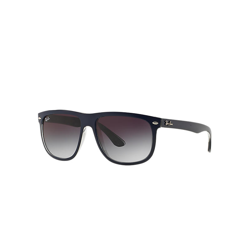 Ray-Ban Blue Sunglasses, Gray Lenses - Rb4147