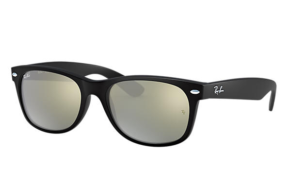 Ray-Ban 0RB2132-NEW WAYFARER FLASH Black SUN