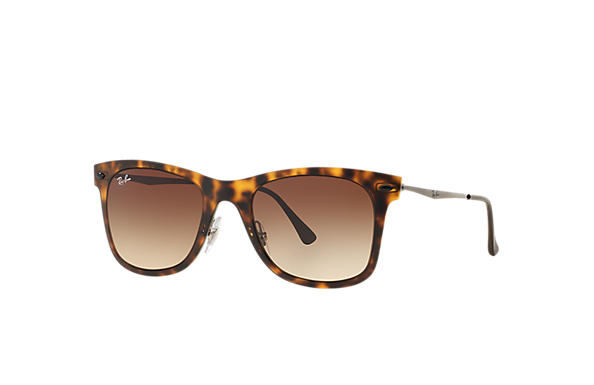 Ray-Ban 0RB4210-WAYFARER LIGHT RAY Havane; Gun SUN