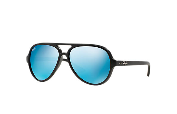 Ray-Ban 0RB4125-CATS 5000 FLASH LENSES Black SUN