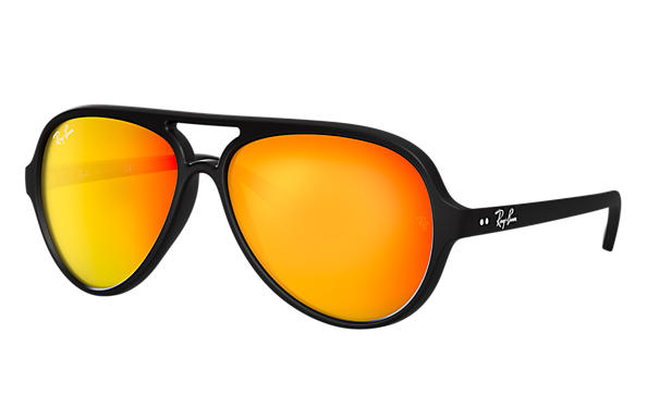 Ray-Ban 0RB4125-CATS 5000 FLASH LENSES Negro SUN