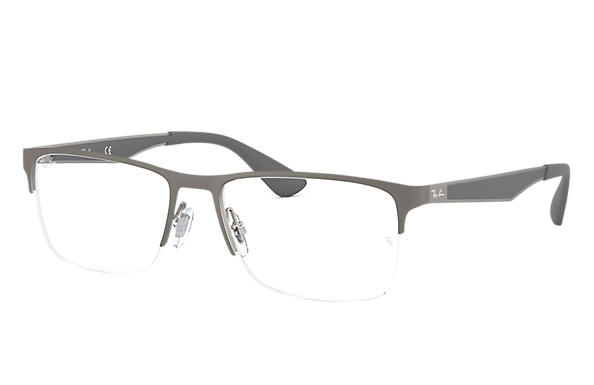Ray-Ban 0RX6335-RB6335 Gunmetal OPTICAL