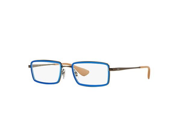 Ray-Ban 0RX6337-RB6337 Blue; Gunmetal OPTICAL