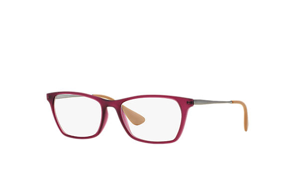 Ray-Ban 0RX7053-RB7053 Purple-Reddish; Gunmetal OPTICAL
