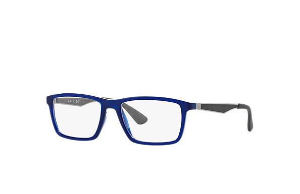 Ray-Ban 0RX7056-RB7056 Blu; Canna di fucile OPTICAL