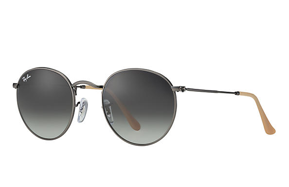 aviator round sunglasses  Ray-Ban Round Metal Gold, RB3447