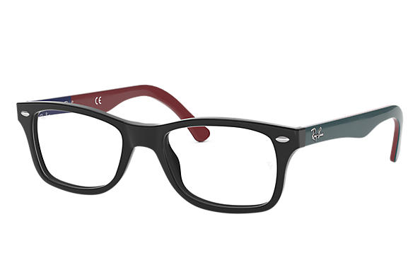 Ray-Ban 0RX5228-RB5228 Schwarz; Grau OPTICAL