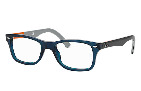 Ray-Ban 0RX5228-RB5228 Bleu; Gris OPTICAL