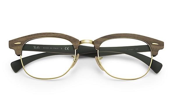 clubmaster ray ban eyeglasses  Ray-Ban RB5154M Brown