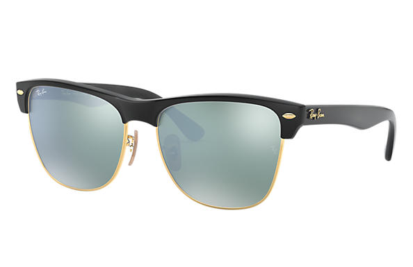 Ray-Ban 0RB4175-CLUBMASTER OVERSIZED FLASH LENSES Bronze-Copper,Black; Black SUN