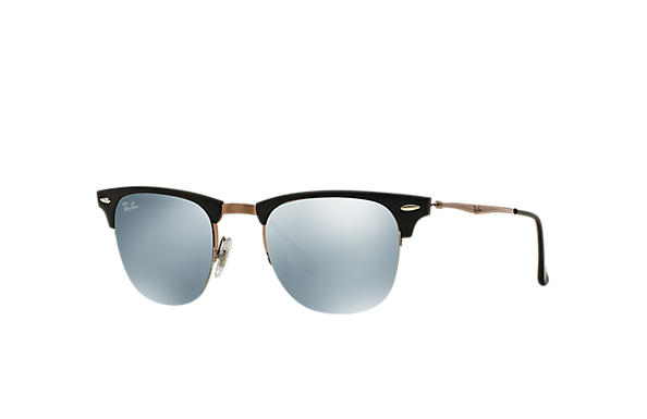 Ray-Ban 0RB8056-CLUBMASTER LIGHT RAY Zwart; Bruin SUN