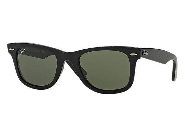 Ray-Ban 0RB2140-ORIGINAL WAYFARER Distressed Black SUN