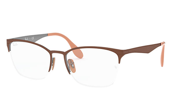 Ray-Ban 0RX6345-RB6345 Bronze-cuivre,Gris OPTICAL