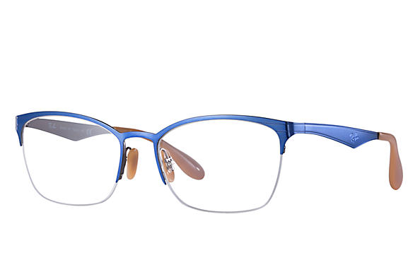Ray-Ban 0RX6345-RB6345 Blau,Grau OPTICAL