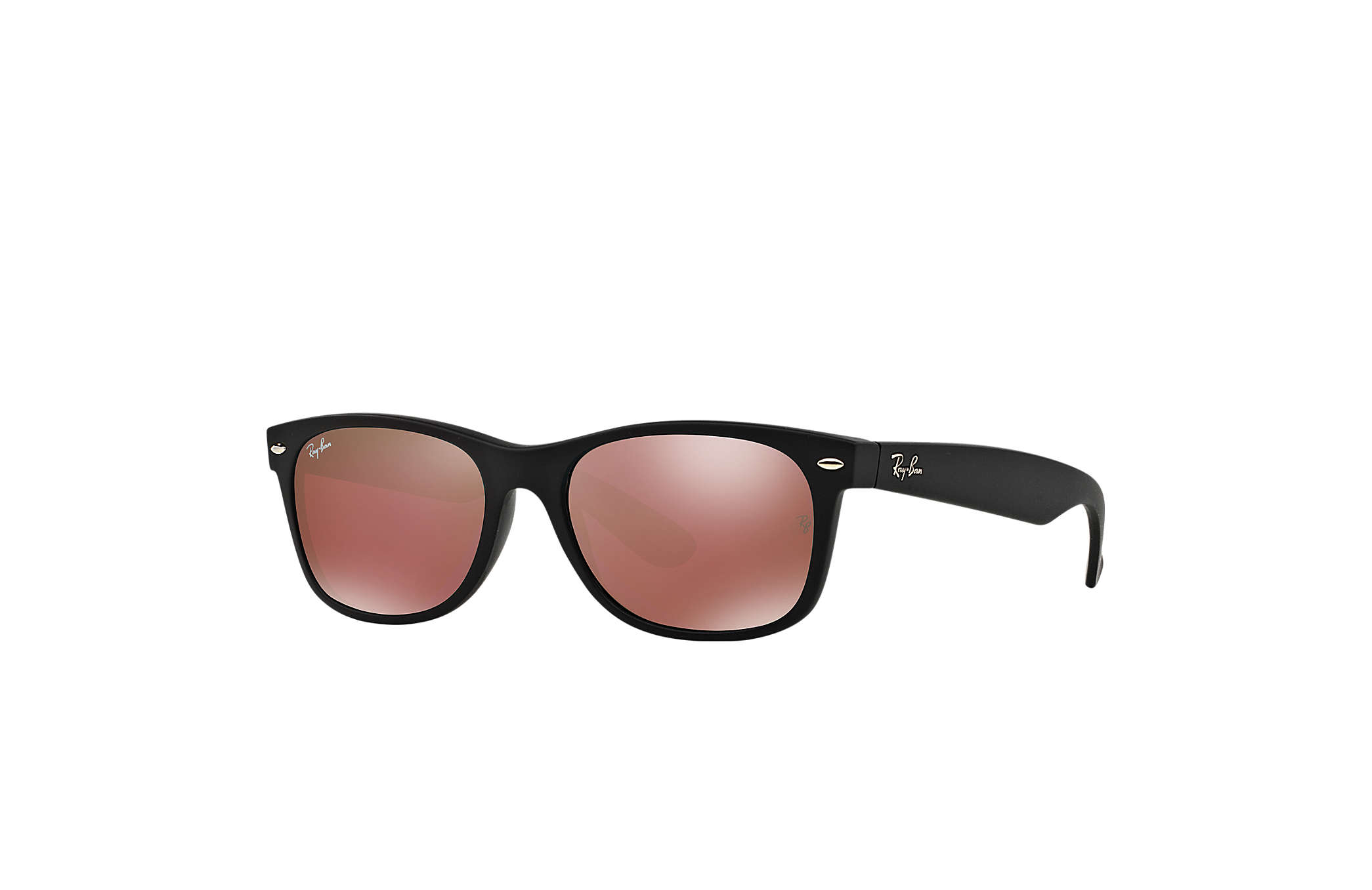 sunglasses ray ban  Ray-Ban New Wayfarer Flash Black, RB2132