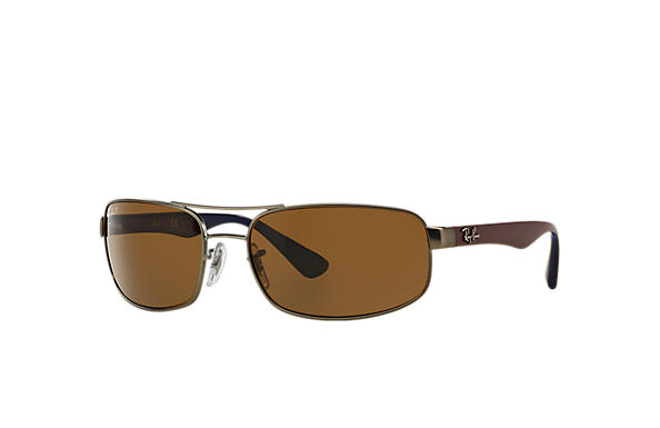 Ray-Ban 0RB3445-RB3445 Gunmetal; Bordeaux SUN