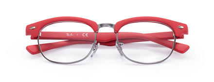 Ray-Ban CLUBMASTER JUNIOR OPTICS Rouge