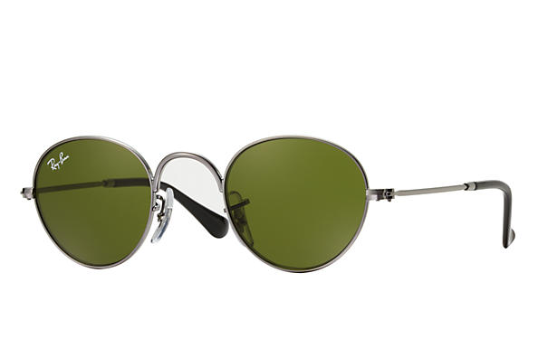 Ray-Ban 0RJ9537S-ROUND JUNIOR Gun SUN