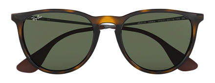Ray-Ban ERIKA CLASSIC Tortoise with Green Classic lens