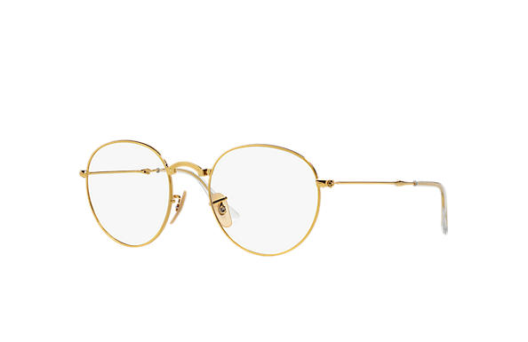 Ray-Ban 0RX3532V-ROUND FOLDING OPTICS Oro OPTICAL