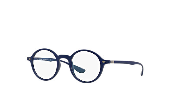 Ray-Ban 0RX7069-ROUND LITEFORCE OPTICS Bleu OPTICAL