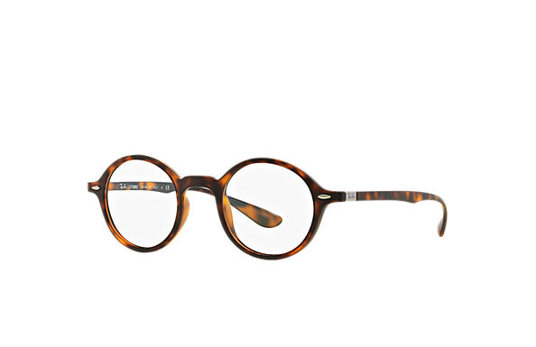Ray-Ban 0RX7069-ROUND LITEFORCE OPTICS Tortoise OPTICAL