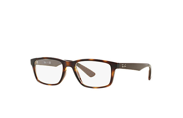 Ray-Ban 0RX7063-RB7063 Tortoise; Brown OPTICAL
