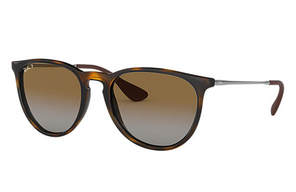 Ray-Ban 0RB4171-ERIKA CLASSIC Tortoise; Staalgrijs SUN