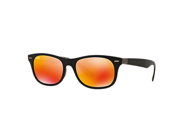 Ray-Ban 0RB4223-New Wayfarer Folding Liteforce Noir SUN