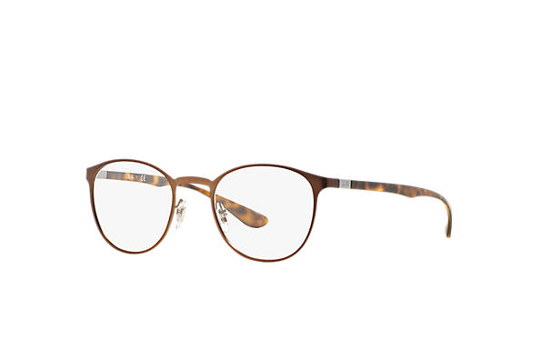 Ray-Ban 0RX6355-RB6355 Marron; Havane OPTICAL