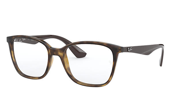 Ray-Ban 0RX7066-RB7066 Tortoise; Brown OPTICAL