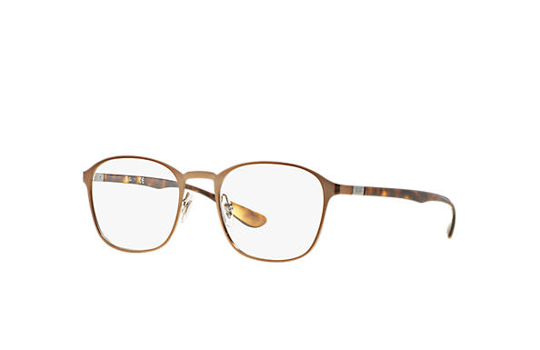 Ray-Ban 0RX6357-RB6357 Light Brown; Tortoise OPTICAL