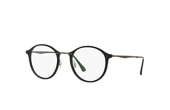 Ray-Ban 0RX7073-RB7073 Schwarz; Gunmetal OPTICAL