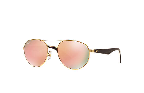 Ray-Ban 0RB3536-RB3536 Gold; Brown SUN