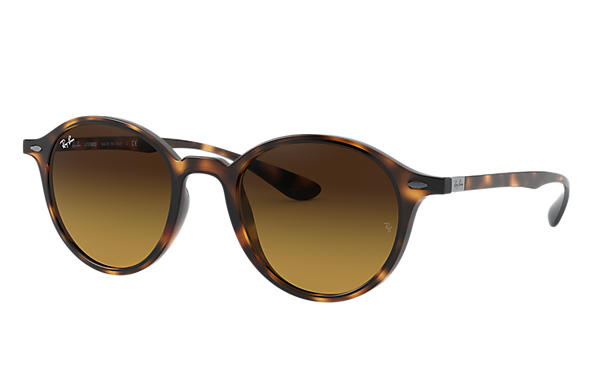Ray-Ban 0RB4237-ROUND LITEFORCE Tortoise SUN