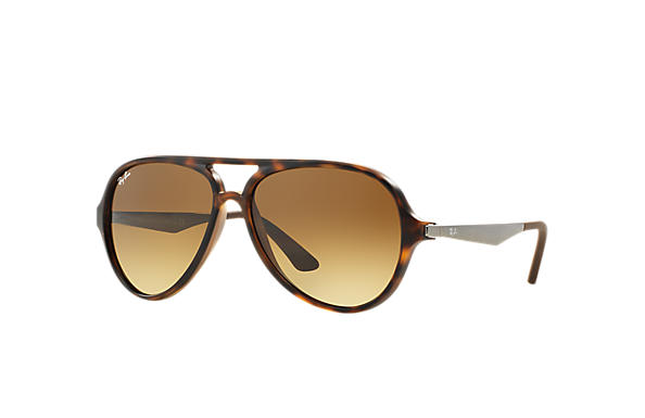 Ray-Ban 0RB4235-RB4235 Tortoise; Staalgrijs SUN