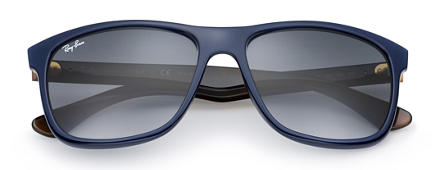 Ray-Ban RB4181 at Collection Tortoise with Silver Mirror lens