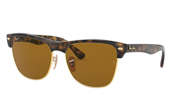 Ray-Ban 0RB4175-CLUBMASTER OVERSIZED at Collection Havana SUN