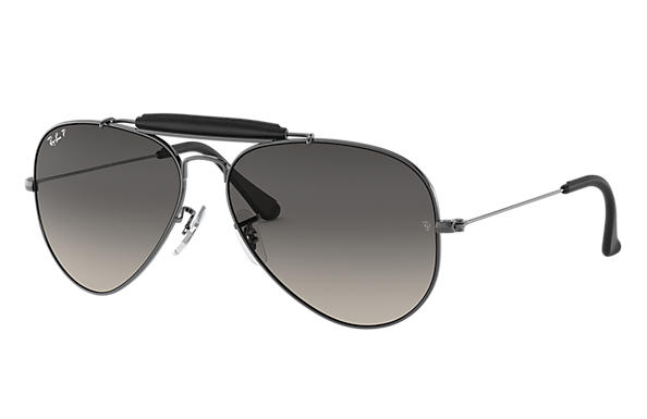 Ray-Ban 0RB3422Q-OUTDOORSMAN CRAFT at Collection Staalgrijs SUN
