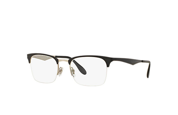 Ray-Ban 0RX6360-RB6360 Black,Silver OPTICAL