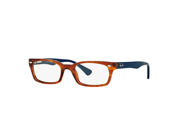 Ray-Ban 0RX5150-RB5150 Tortoise; Blue OPTICAL