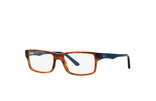 Ray-Ban 0RX5245-RB5245 Tortoise; Blue OPTICAL