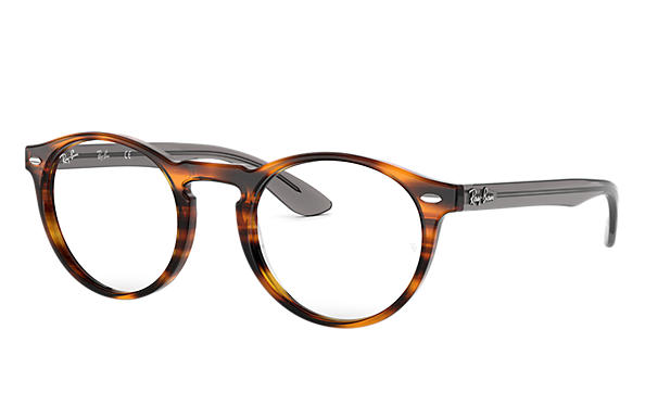 Ray-Ban 0RX5283-RB5283 Tortoise; Grey OPTICAL