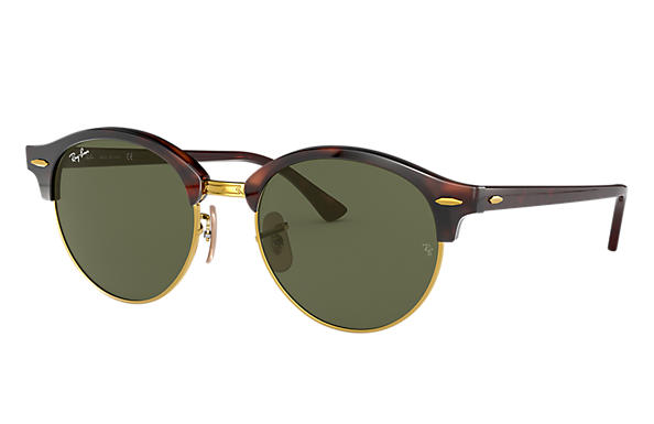 Ray-Ban 0RB4246-CLUBROUND Tortoise SUN