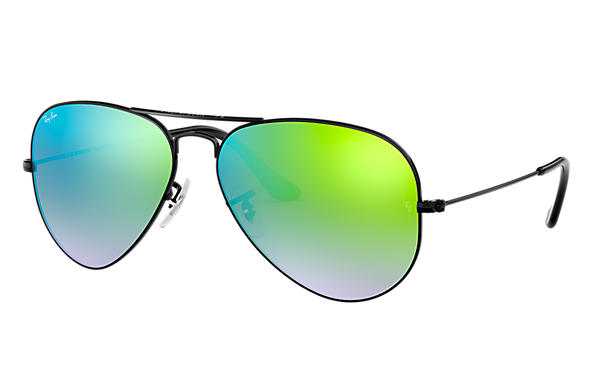 Ray-Ban 0RB3025-AVIATOR FLASH LENSES GRADIENT Noir SUN